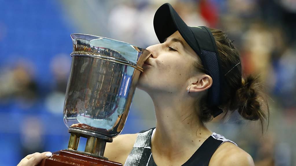 Belinda Bencic will nach dem Titel in Moskau auch an den WTA Finals in Shenzhen angreifen.