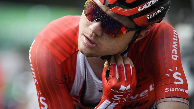 Marc Hirschi fiel am Schlusstag der Benelux-Rundfahrt noch drei Positionen zurück
