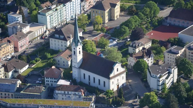 Eusebiuskirche im Zentrum Grenchens