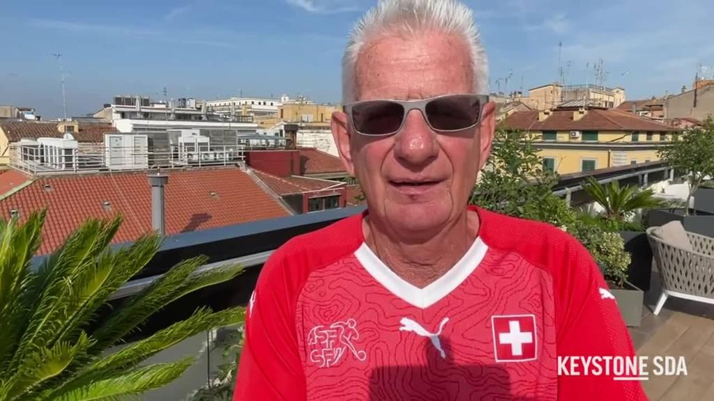Hohe Erwartungen der Schweizer Fans vor Italien-Spiel