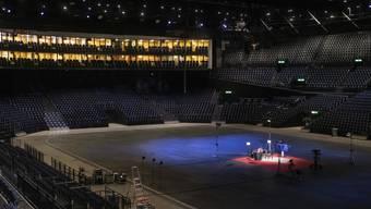 Das Zürcher Hallenstadion als Probelokal für die 18 Musiker des Zurich Jazz Orchestra: In Zeiten von Corona hat sich eine ungewöhnliche Partnerschaft ergeben. (Archivbild)
