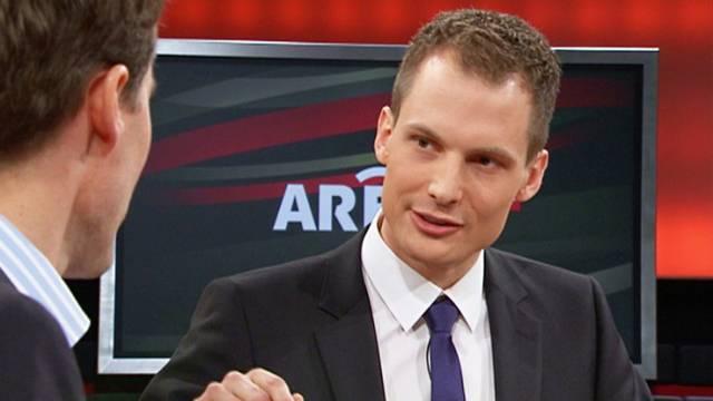 "Neuer ""Arena""-Moderator Jonas Projer."
