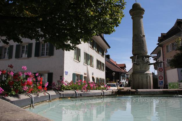 Der Sternenbrunnen.