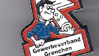 Eine schöne Erinnerung bleibt der fröhliche Pin des Gewerbeverbandes Grenchen (GVG).