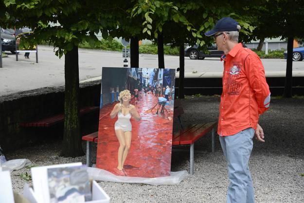 Impressionen vom 4. Kunstmarkt «coffre ouvert»