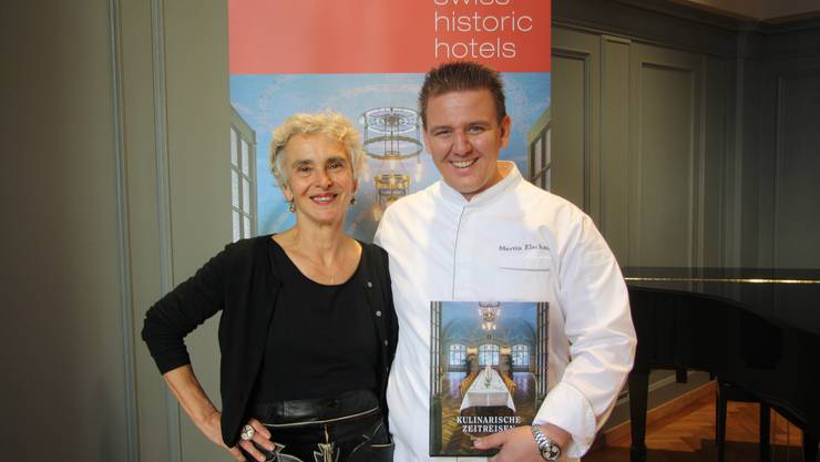 Pia Camponovo und Martin Elschner stellen ihre Kochkünste im neuen Buch vor.