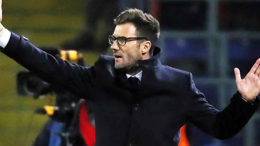Basels Trainer Raphael Wicky empfängt im Cup-Viertelfinal Markus Babbel und den FC Luzern