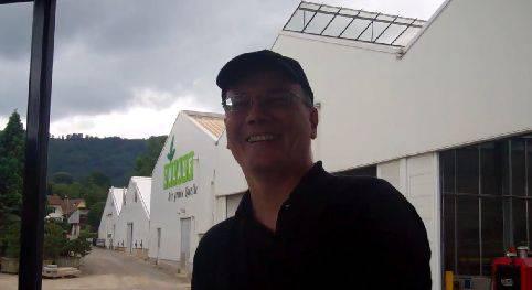 Max Chopard fährt zum ersten Mal Dampfbahn