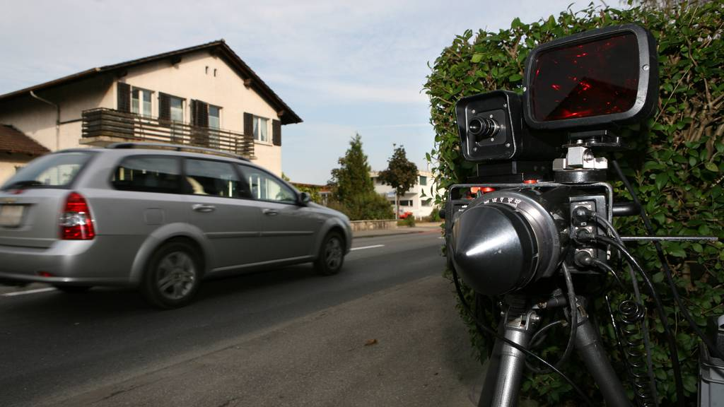 149 statt 80 Stundenkilometer: Walliser Polizei blitzt einheimischen Raser