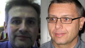 Guy David (gewählter Vizeammann) und Martin de Fusco (gewählter Amann) schlugen das Amt aus (von links)