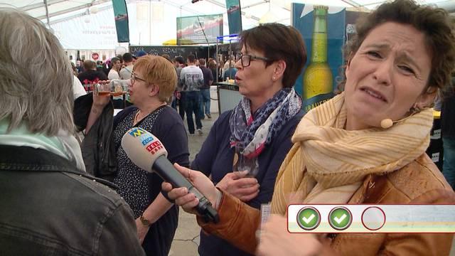 Quizzenswert an den Solothurner Biertagen