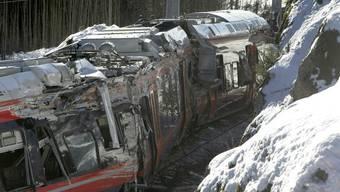 Beim Unglück Mitte Februar wurden fünf Menschen verletzt