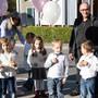 Kinder und Mamis gegen Burstkrebs in Menziken