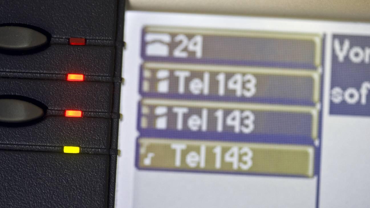Das Sorgentelefon 143 der Dargebotenen Hand klingelte im Pandemiejahr 2020 deutlich mehr.