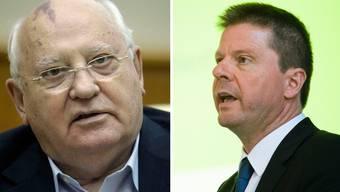 Der Streit zwischen Michail Gorbatschow und Martin Bäumle geht in die nächste Runde.