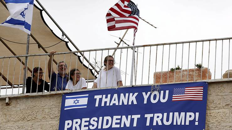 Vorfreude in der Nachbarschaft der am Montag zu eröffnenden US-Botschaft in Jerusalem