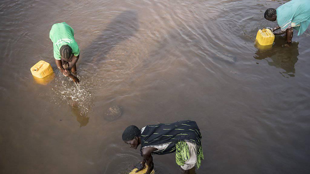 Jeder dritte Mensch ist ohne sicheres Trinkwasser