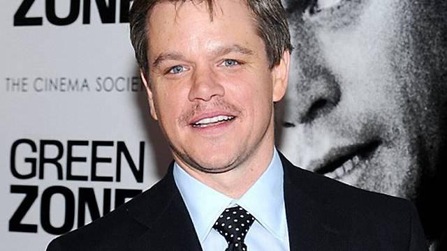 Matt Damon ist mit den Leistungen Obamas nicht zufrieden