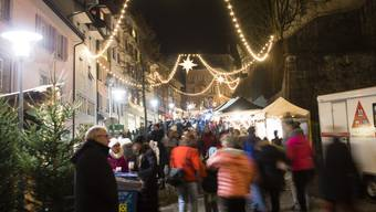 Mit der Adventszeit kommen auch die Weihnachtsmärkte. Wir zeigen Ihnen die besten im Aargau.