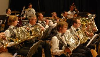 Stadtmusik Bremgarten: Konzertvorbereitungen fortan mit wechselnden Dirigenten. (Bild: Lukas Schumacher)