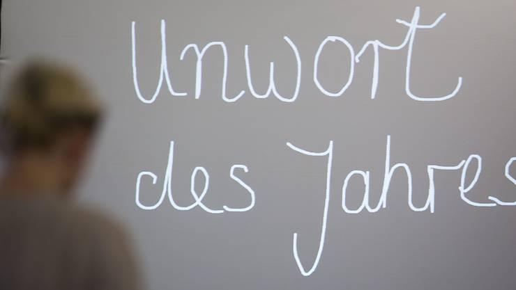 """Das """"Unwort des Jahres"""" 2019 heisst """"Klimahysterie"""". (Archivbild)"""