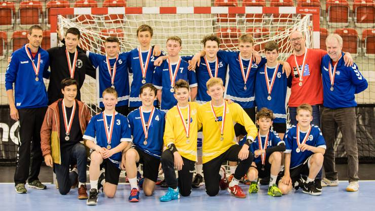 Die U15-Handballer der HSG Aargau Ost sind Vize-Schweizermeister.