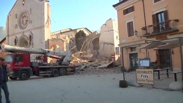 Erneute Erdbeben in Italien