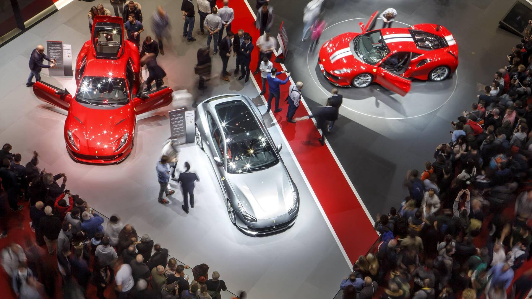 Der Genfer Autosalon zieht jeweils mehr als 600'000 Besucher an.