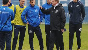 Rolf Fringer leitete am Montag sein letztes Training für den FCZ
