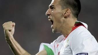 Ivelin Popov bescherte dem Schweizer Gruppengegner Bulgarien den ersten Sieg