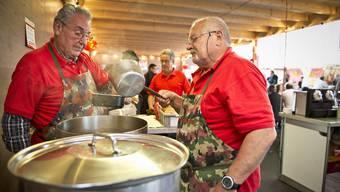 War sehr beliebt: Die Suppe mit Spatz der Feuerwehr.