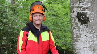 Förster André Schraner kennt die Mettauertaler Wälder wie kein Zweiter. Dennis Kalt