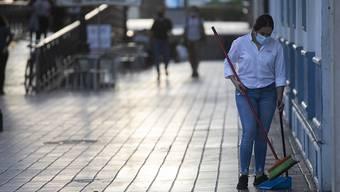 In Spanien - hier Sevilla - gilt aufgrund der Corona-Pandemie eine n‰chtliche Ausgangssperre. Foto: MarÌa JosÈ LÛpez/EUROPA PRESS/dpa