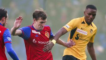 Fabian Frei und sein FC Basel sind YB auf die Pelle gerückt.