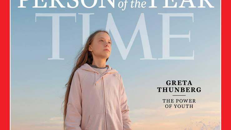 «Kraft der Jugend»: Das US-Magazin «Time »wählte Greta Thunberg zur Person des Jahres.