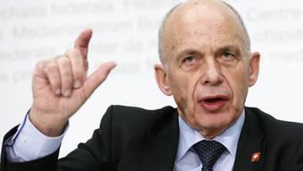 Finanzminister Ueli Maurer wurde richtig hässig.