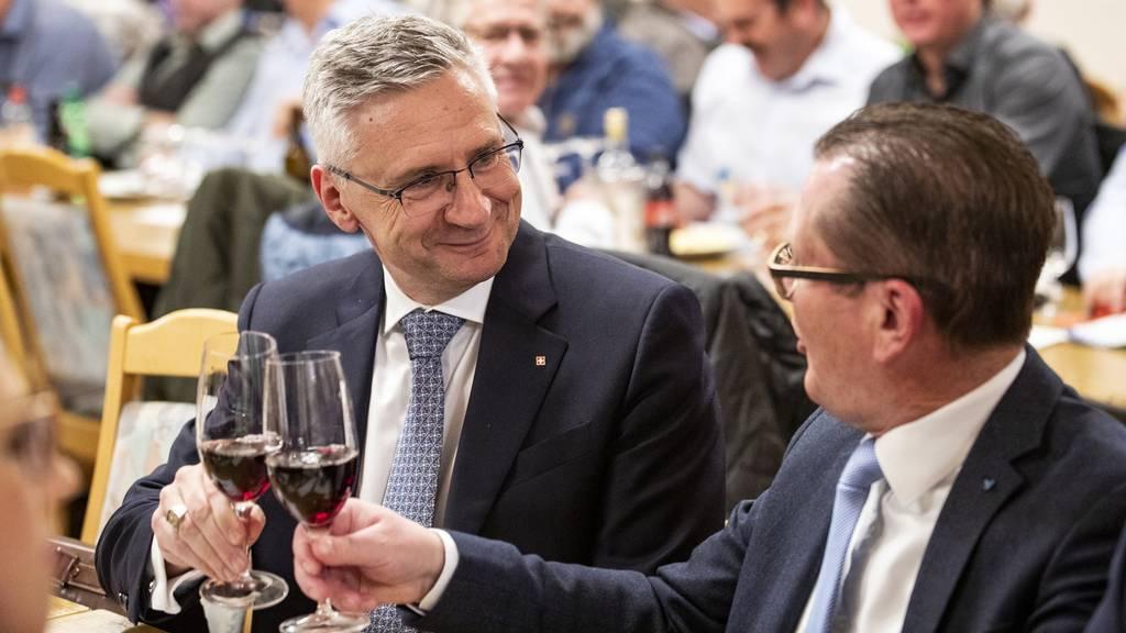 Andreas Glarner ist neuer Präsident der SVP Aargau