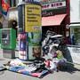 Am Barfüsserplatz ist einer der prominentesten Schlafplätze eines Basler Obdachlosen – aber bei weitem nicht der einzige.