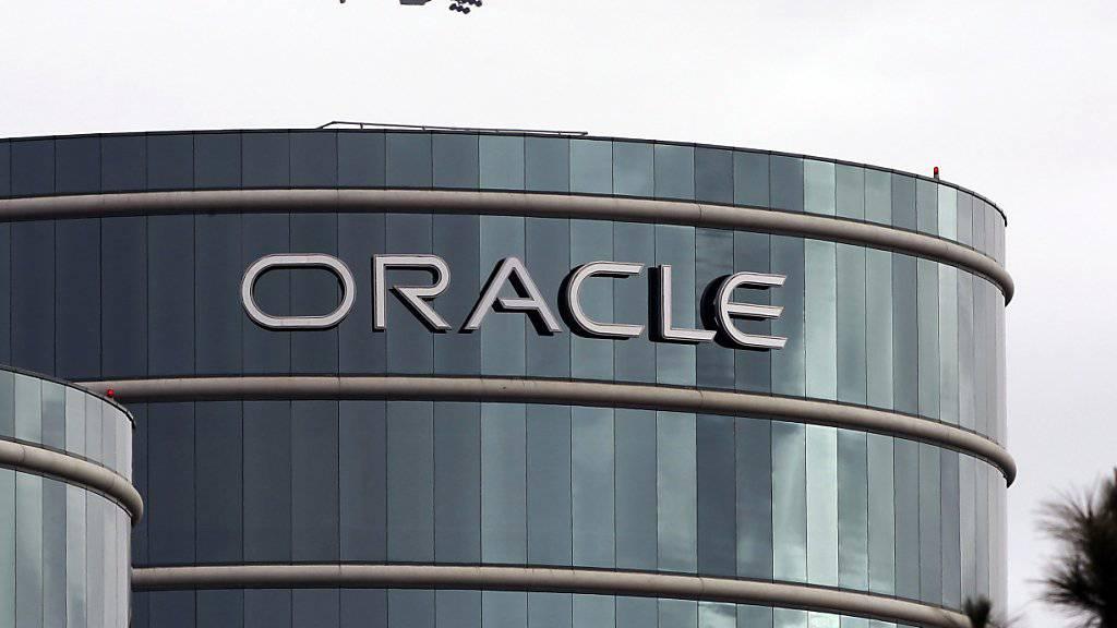 Software-Überflieger Oracle verdient mit dem Cloud-Geschäft gutes Geld. (Archivbild)