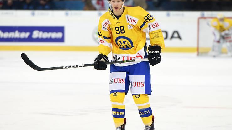 Der nun in Schweden spielende Ken Jäger debütiert am Wochenende im Nationalteam (Archivbild)