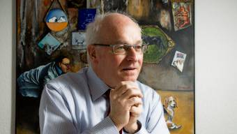 Hans Leuenberger, CEO des Kantonsspitals Aarau: «In den nächsten Jahren brauchen wir jährlich rund 100 Millionen Franken für Investitionen.»
