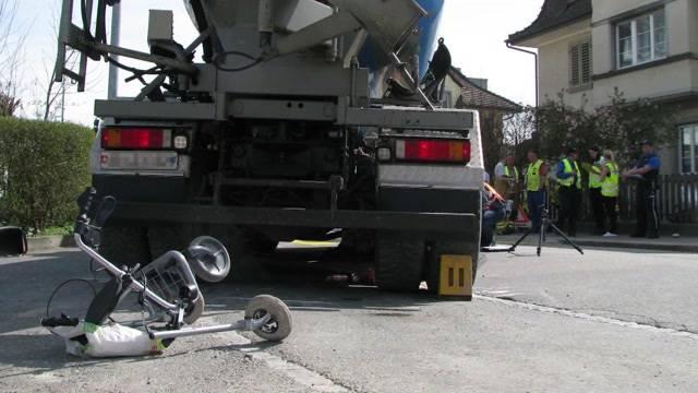 Tödlicher Unfall in Brugg