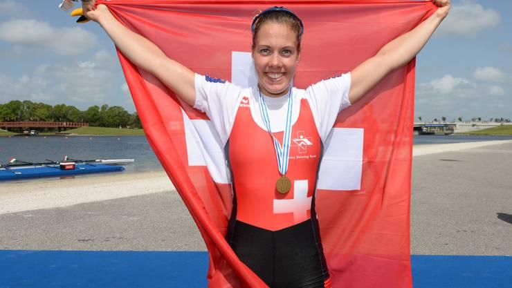 Grosse Ehre für Jeannine Gmelin: Die Schweizerin ist Ruderin des Jahres