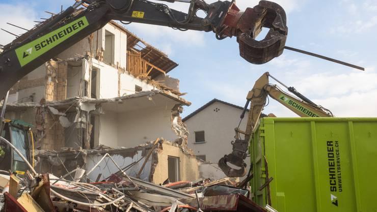 Das Quartier Sonnenhof wird abgerissen.