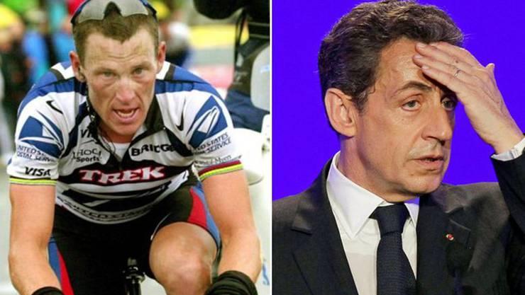 Was weiss der ehemalige franzöische Präsident Nicolas Sarkozy über Armstrongs Doping