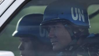 Zwei Blauhelm-Soldaten der Undof-Mission (Symbolbild)