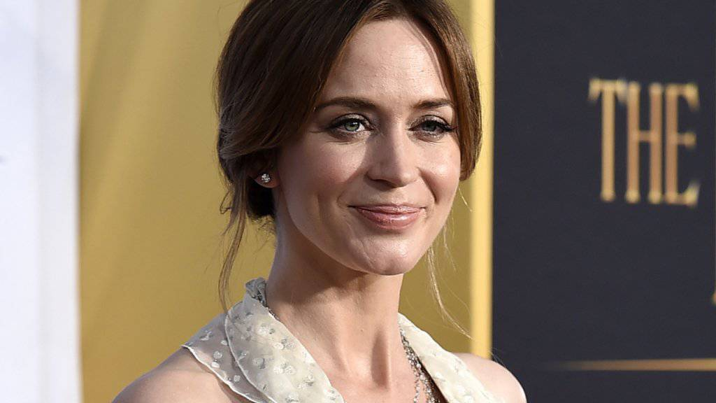 "Emily Blunt spielt im Thriller ""The Girl on the Train"" eine Augenzeugin eines Mordfalls. (Archivbild)"