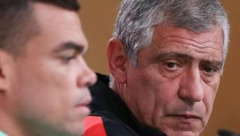 Optimistisch im Hinblick auf die Partie gegen die Schweiz: Portugals Nationalcoach Fernando Santos