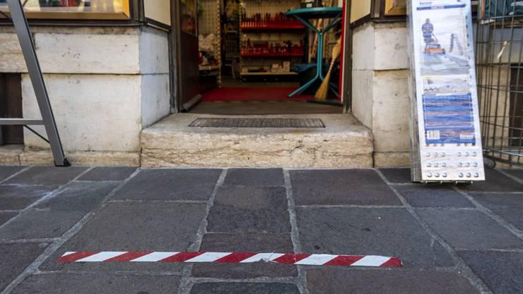 Der Lockdown hat viele Geschäfte an den Rand des finanziellen Ruins gebracht. (Symbolbild)