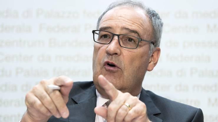 Wirtschaftsminister Guy Parmelin: «Ich räume Probleme lieber im persönlichen Gespräch aus als in langen Mailwechseln.»
